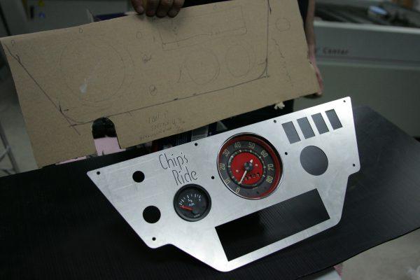 custom dune buggy dashboard